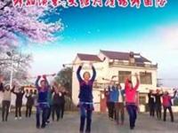 太湖江塘大塘村广场舞《连响花棍舞》原创舞蹈 团队版