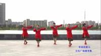 明光老明东广场舞队广场舞 草原的夏天 表演 团队版