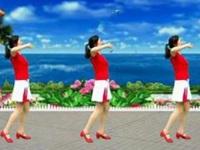 自信的微笑广场舞《最美最美》原创舞蹈 附正背面口令分解动作教学演示