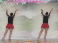抚州雨欣缘广场舞《一晃就老了》编舞风中天使 附正背面口令分解动作教学演示