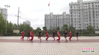 武汉黄陂横店开心姐妹舞蹈队广场舞《你不来我不老》表演 团队版