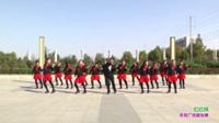 新乡县中曹村广场舞队广场舞 红红线 表演 团队版