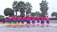 湖南省岳阳格格健身队 天上的风 表演 团队版