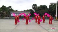 河南省信阳市商城县赞夕阳歌舞团《珊瑚颂》表演 团队版
