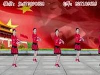 简画广场舞《新年一起旺》原创欢快舞庆元旦 附正背面口令分解动作教学演示