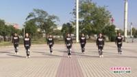 河南省郸城县红颜鬼步舞队广场舞  唱着情歌流着泪 表演 团队版