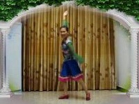 三里舞姿广场舞《民族舞串烧》原创舞蹈 正背面演示