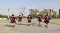 新乡县罗滩阳光舞蹈队广场舞 你不来我不老 表演 团队版