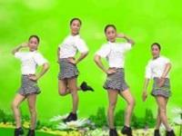 蓝莓思洁广场舞《十个群主九个坏》原创32步 附口令分解动作教学演示