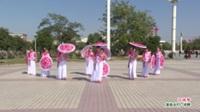 河南省周口市郸城县宜路东街舞队广场舞  江南梦 表演 团队版