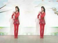 杭州花儿广场舞《语花蝶》原创舞蹈简单柔美 正背面演示