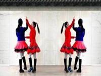 乔茜广场舞《望乡》原创双人舞 附正背面口令分解动作教学演示