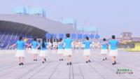 湖南常德东湖巷健身队 故乡的牧羊人 表演 团队版
