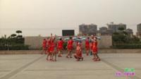 新乡县西大阳舞蹈队广场舞 唱山歌 表演 团队版