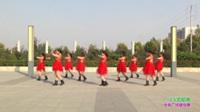 新乡县西曹村魅力舞队广场舞 火火的姑娘 表演 团队版