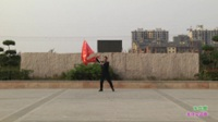 新乡县胜北水兵舞队广场舞 红星照我去战斗 表演 团队版
