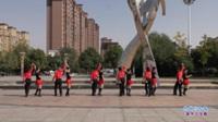 郑州南区程程舞蹈队广场舞 热线你和我 表演 团队版