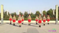 新乡县快乐姐妹舞蹈队广场舞 三月三 表演 团队版