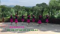 江西江财飞悦广场舞《我家就在莎车住》原创舞蹈 正背表演 团队版
