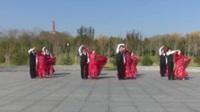北京市展览馆李宝岩舞蹈二队广场舞 情深谊长(中三) 表演 团队版