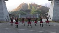 舞动青春广场舞队  雪山姑娘 表演 团队版