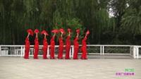 郑州市向阳艺术团广场舞《开门红》原创舞蹈 表演 团队版