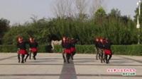 河南省淮阳县一帆风顺舞蹈队广场舞  水兵舞 山谷里的思念 表演 团队版