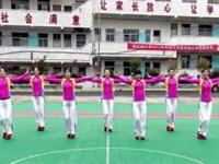 沅陵燕子广场舞《蓝色中国梦》原创舞蹈 附正背面口令分解动作教学演示
