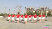 新乡县龙泉舞动青春舞蹈2队广场舞 四德歌 表演 团队版