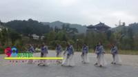 新化白溪幽兰队广场舞 醉情歌 表演 团队版
