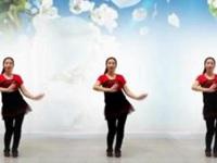 信阳阿琴广场舞《美的不要不要的》编舞慧慧 正背面演示
