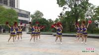 河南省信阳市潢川县仁和靓丽舞蹈队广场舞  创造奇迹 表演 团队版