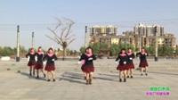 新乡县罗滩阳光舞蹈队广场舞  暖暖的幸福 表演 团队版