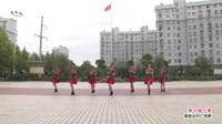 武汉黄陂滠口小雨舞蹈队广场舞《黄土地上黄》表演 团队版