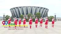 清清小溪健身队 想西藏 表演 团队版