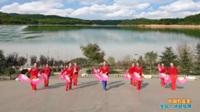 陕西华州赤水沙弥舞蹈队广场舞《中国歌最美》原创舞蹈 表演 团队版