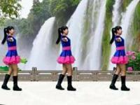 四川蓉蓉广场舞《爱情就像一首歌》原创舞蹈 正背面口令分解动作教学