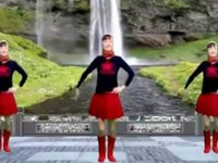 玲玲舞动广场舞《最真的梦》原创水兵舞 正背面演示及口令分解动作教学