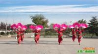 陕西华州小丫太平舞蹈队广场舞《吉祥中国年》原创舞蹈 表演 团队版