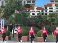 抚州左岸风情广场舞《歌在飞》原创鬼步舞 附正背面口令分解动作教学演示