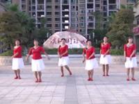 杨市燕子广场舞队广场舞《三月三》原创舞蹈 表演 团队版