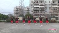 武汉黄陂盘龙城许庙快乐健身舞队广场舞《情哥哥情妹妹》表演 团队版