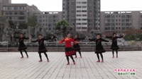 河南省周口市沈丘县高门广场舞队广场舞  阿哥阿妹不分离 表演 团队版