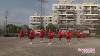 武汉黄陂盘龙城摩卡小镇迎朝阳舞蹈队广场舞《你开心所以我快乐》表演 团队版