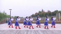 宿州南苑舞队广场舞 拉萨雨夜 表演 团队版
