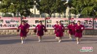 河南省周口市郸城县吴台舞蹈队广场舞  共圆中国梦 表演 团队版