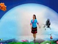 春晖广场舞《爱上蓝月亮》原创舞蹈 附正背面口令分解教学演示