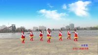 六安姐妹花舞蹈队 水蓝蓝 表演 团队版