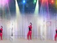 清盈百合广场舞《儿童健身操》原创舞蹈 正背面演示