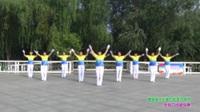 郑州市纷飞快乐舞步健身队五队广场舞 今生爱的就是你 表演 团队版